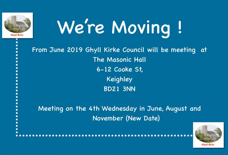 Ghyll Kirke Council 261, set to move