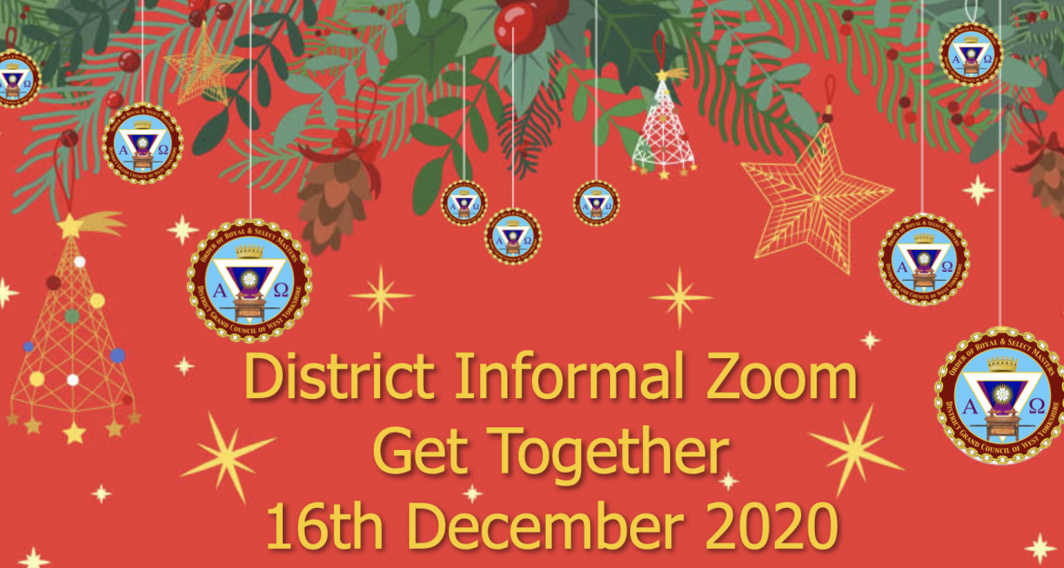 District Informal Zoom get together. 16th December 2020